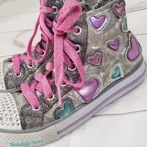 Skechers Twinkle Toes Shuffles Starlet Pose Shoes
